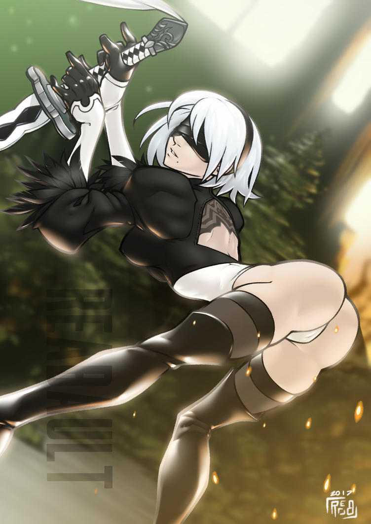 2B (Costume Fix) by Reabault