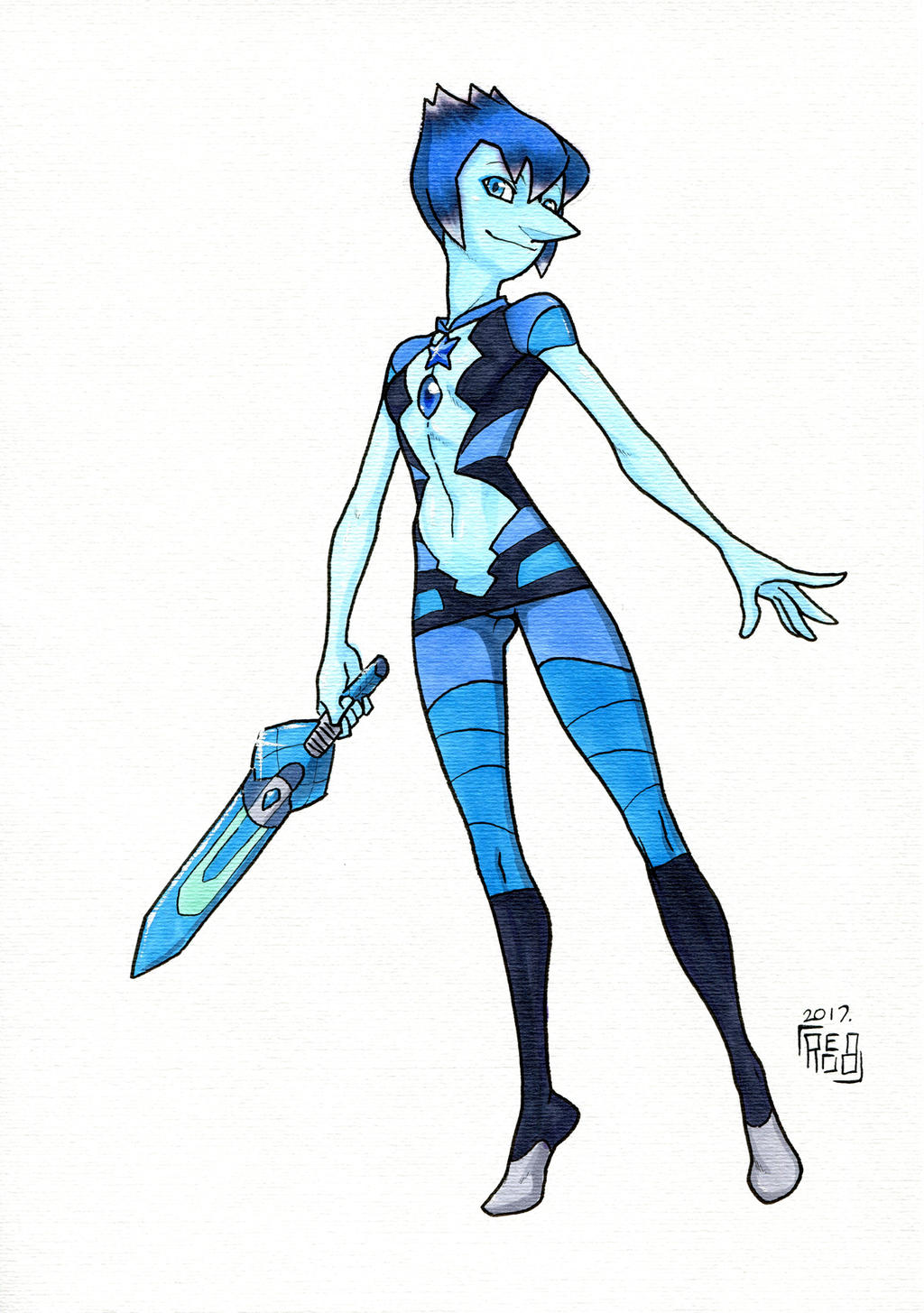 B. L. Opal COPIC Commission by Reabault