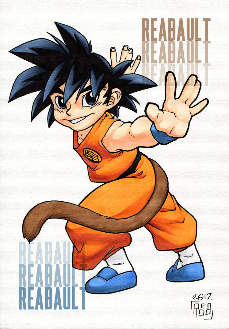 Goku COPIC (On Sale) by Reabault