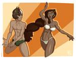 Malin and Jade Swimsuits