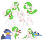 Gardevoir Doodles