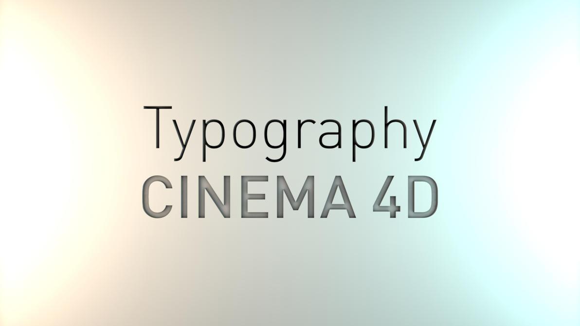 cinema 4d typography animated by necrobyte1 on deviantart