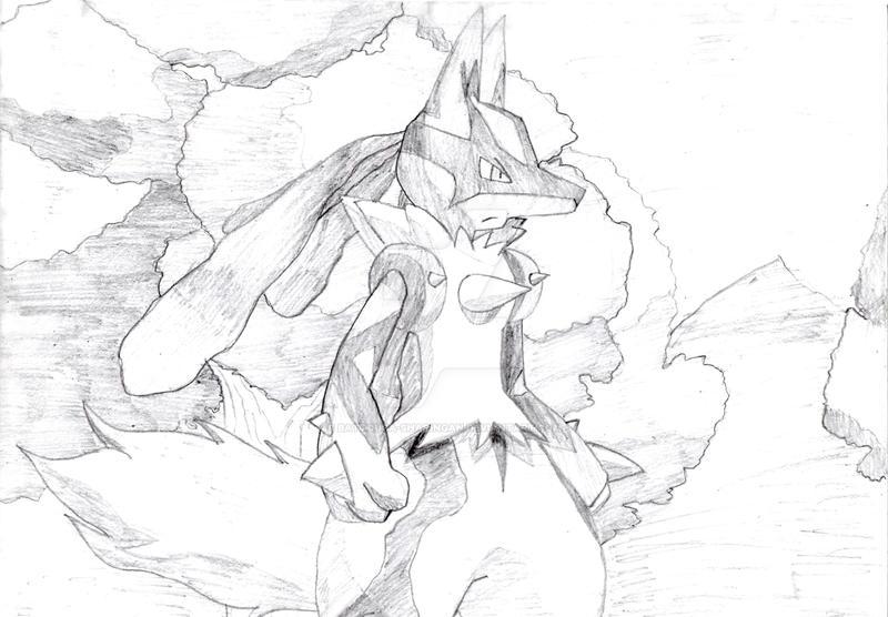 Mega Evolution Lucario!X3 By Battouga-Sharingan On DeviantArt