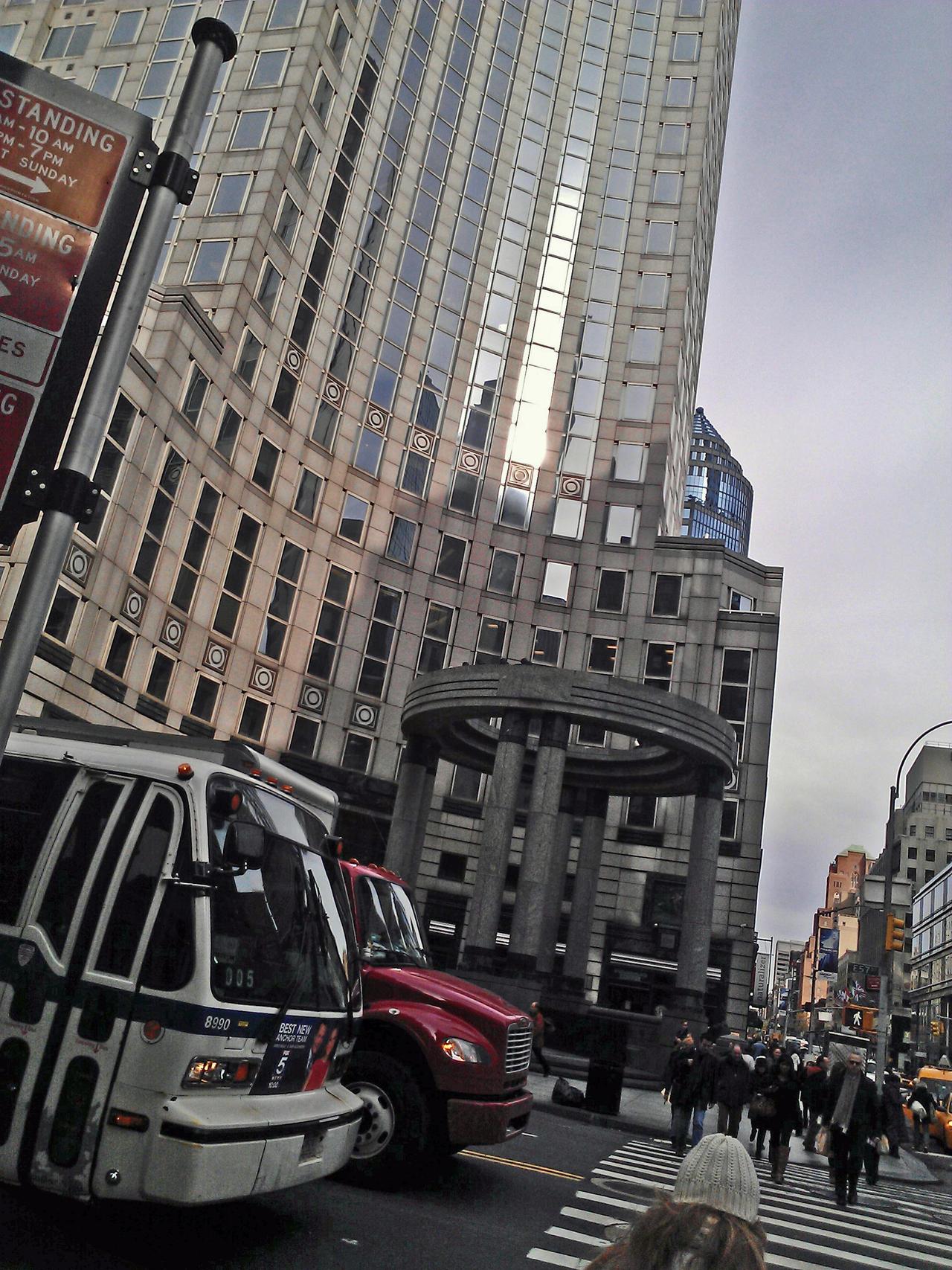 Lexington Ave Corner by ArbothxthexInsane