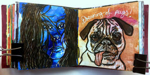 Art journal page, February 2017