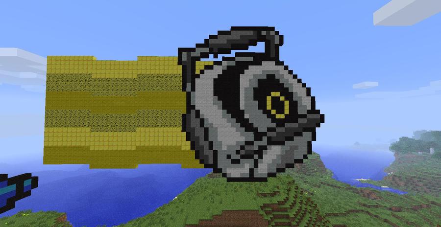 Minecraft pixel art series space core by lonesilverwind on deviantart - Portal entree ownership ...