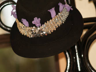 Violet Hat by Dermah