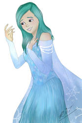 Baylee Jae as ELSA!! by I-think-I-win