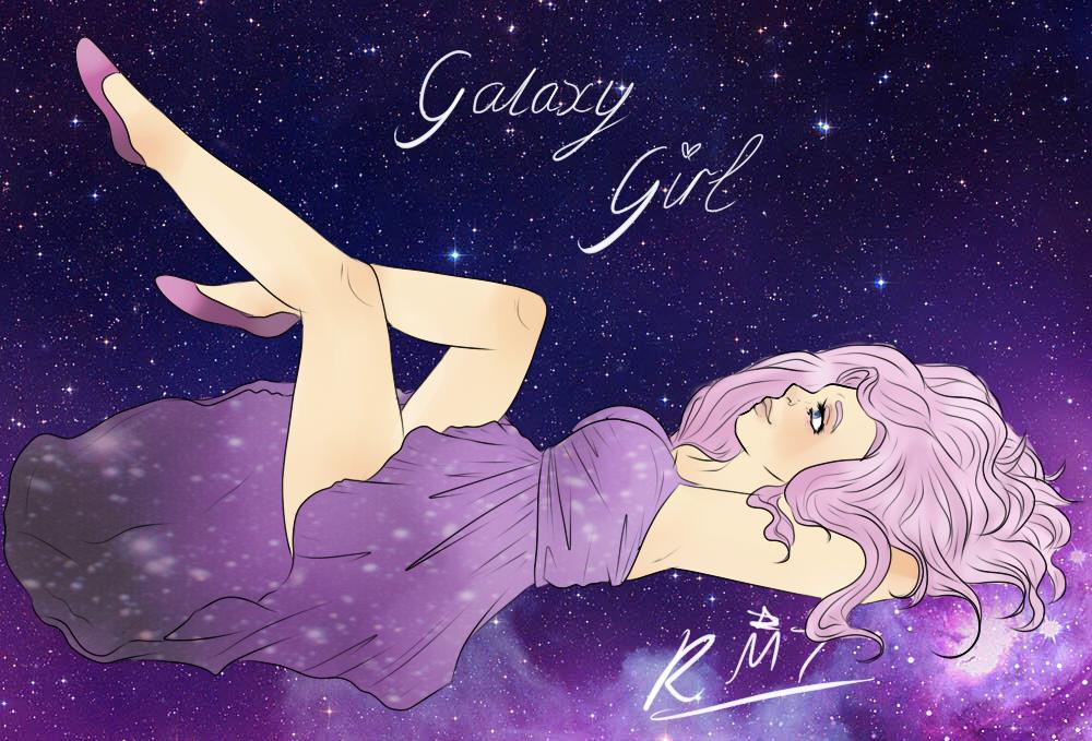 Galaxy Girl by I-think-I-win