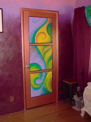 Painted Panel Door