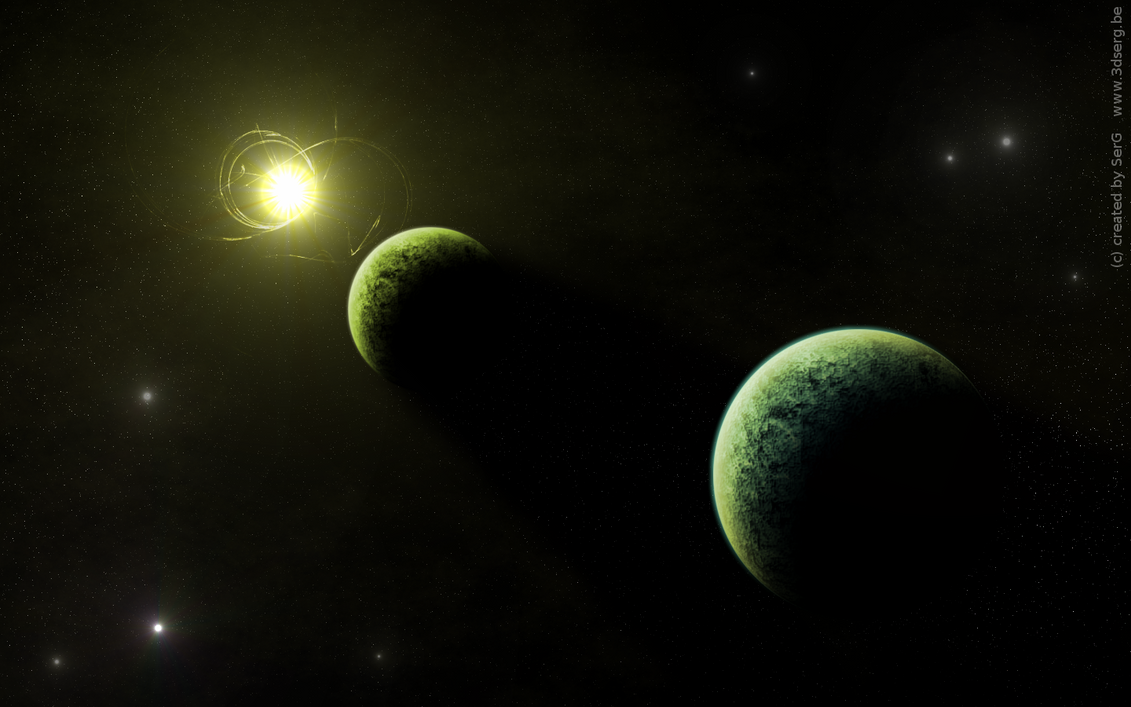 Solar System by sergbel on deviantART