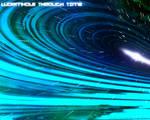wormhole through time