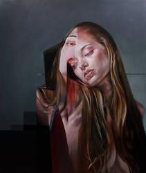 Untitled (acrylic on canvas) by aozr