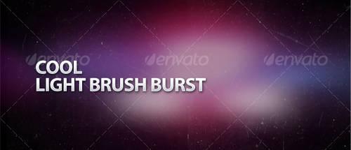 Cool Light Brush Burst