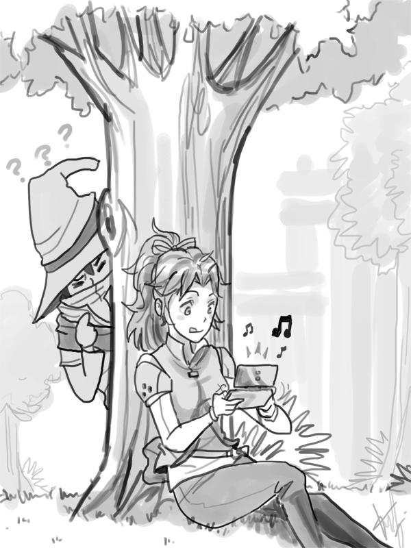 Devastos Chronicles sketch 3 by FelipeNero