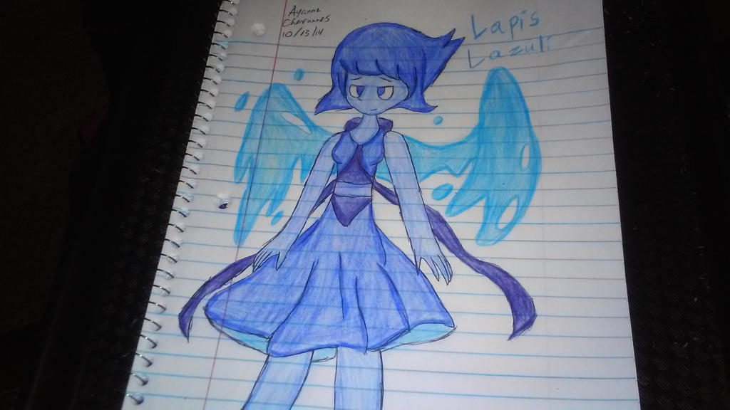 Fanart- Lapis Lazuli (Steven Universe) by supershadnic899