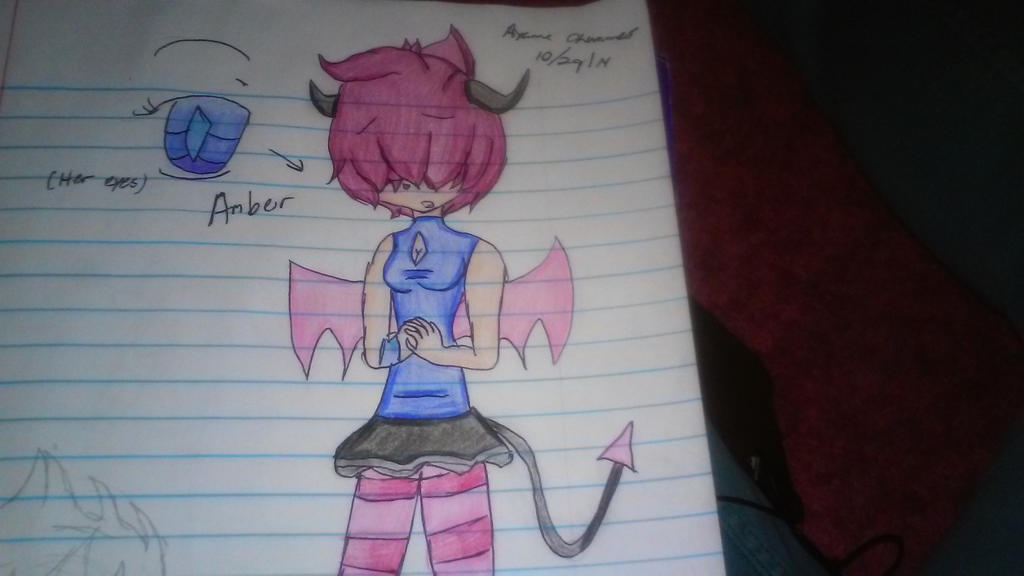 Ref- Amber the Demon by supershadnic899