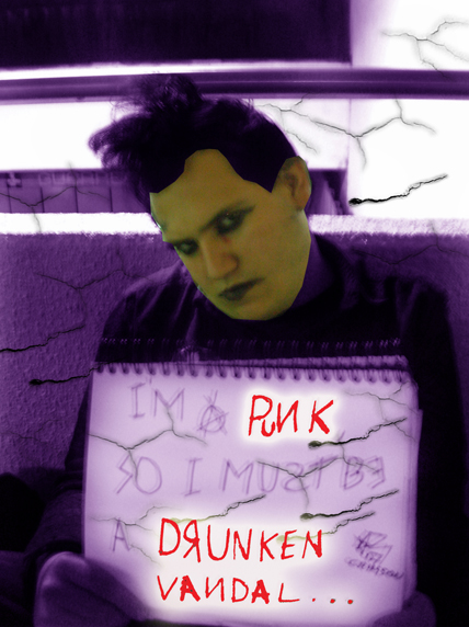 I'm a Punk.... by Crimson-Werecat
