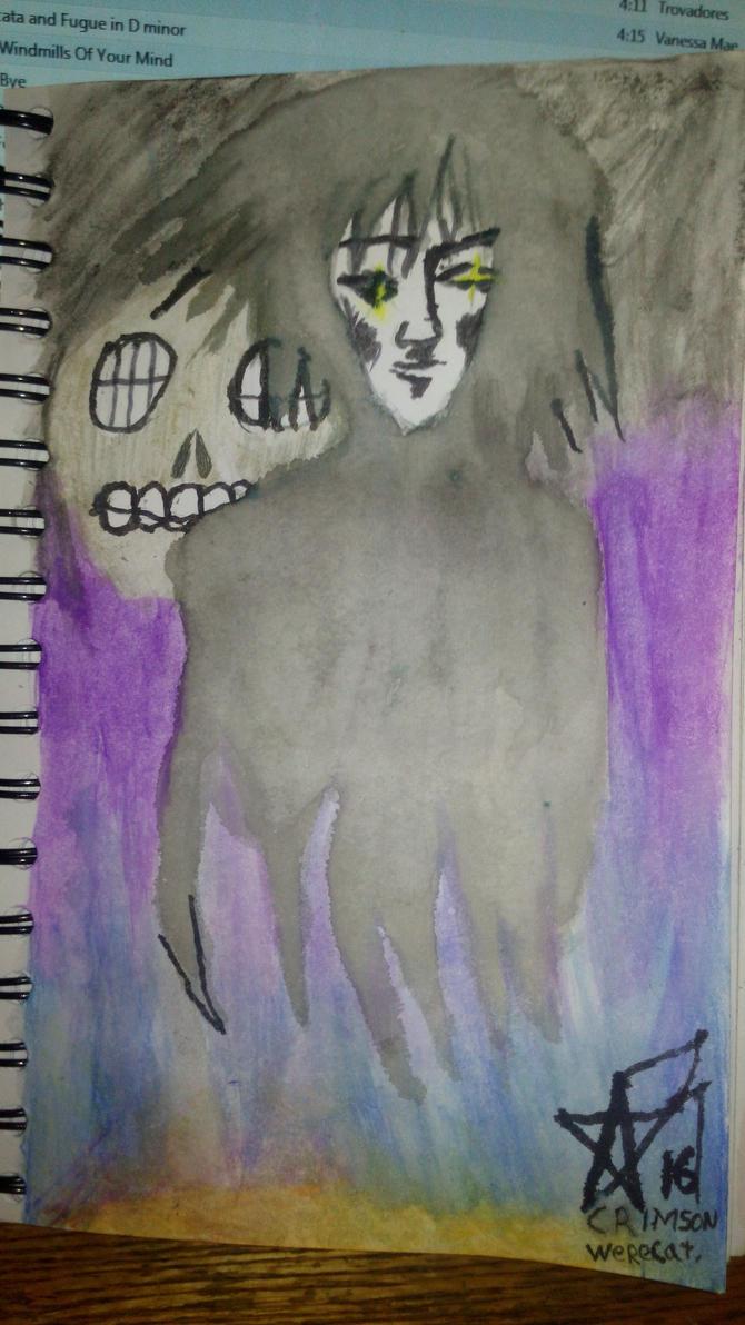 Morpheus and the Corinthian.  by Crimson-Werecat