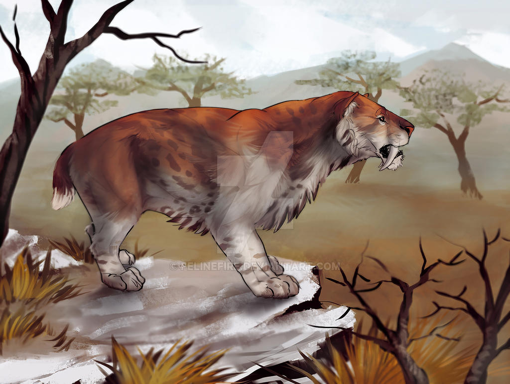 Prehistoric predators sabertooth