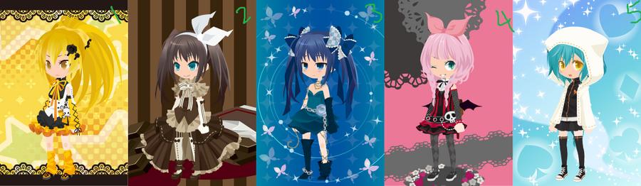 Free TinierMe adoptables:1 [close] by SawaHaru