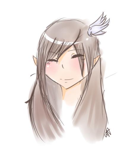 Random (Suppose to be) Sketch by SawaHaru