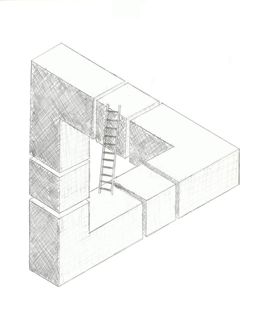 Triangle by matrix541