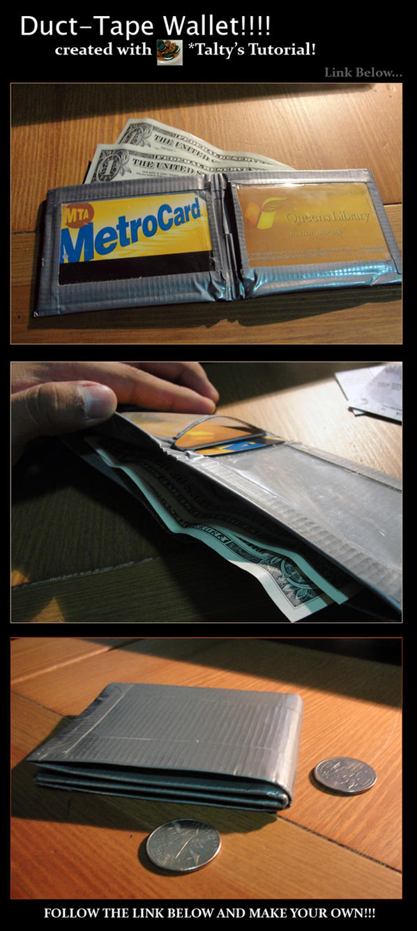 Talty's Tut. for Tape Wallet by matrix541