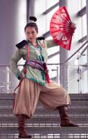 Pirate Mulan by thebooradlus