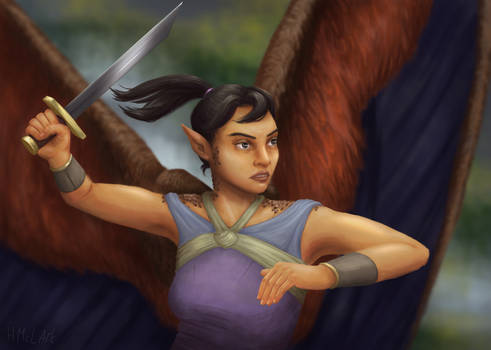 Winged Fighter