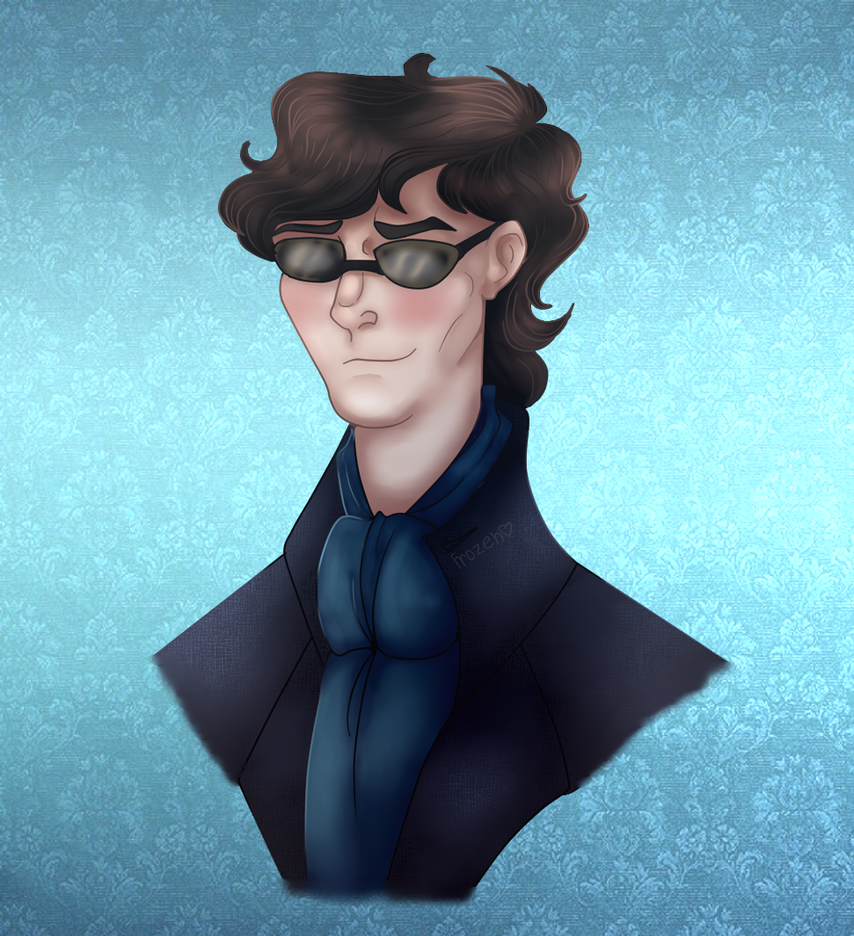Sherlock by Frozen-Ghost212