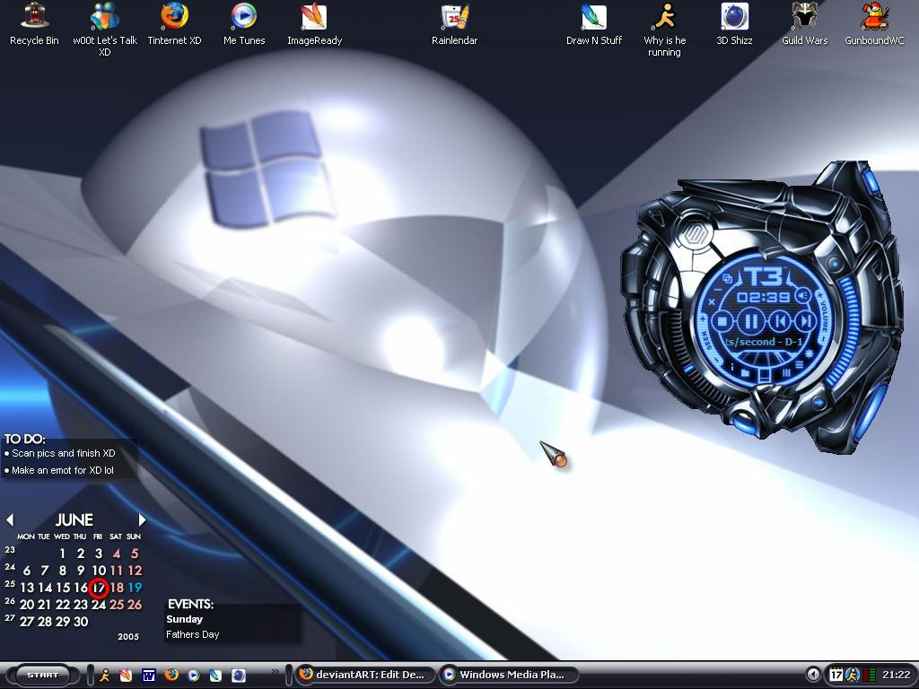 My Amazing Desktop lol by Cobz