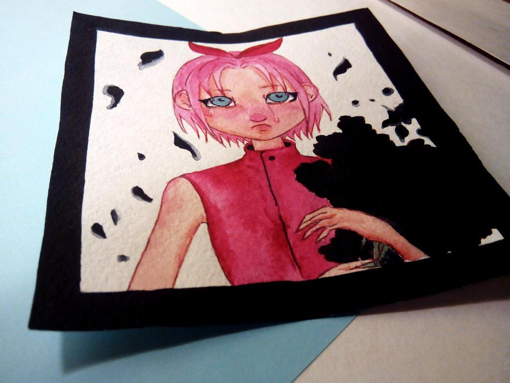 Sakura Haruno by HannaLoony