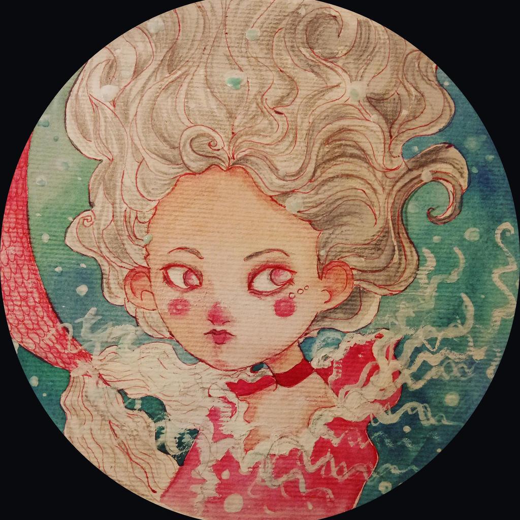Mermaid by HannaLoony