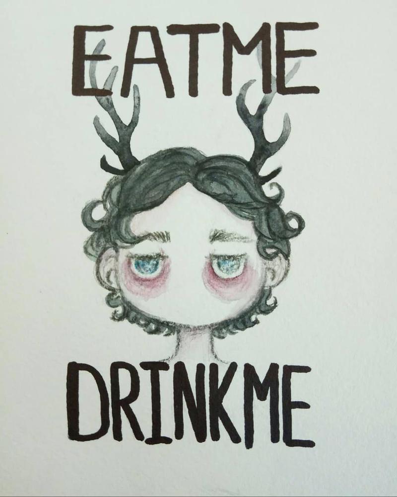 Eat me Drink me by HannaLoony
