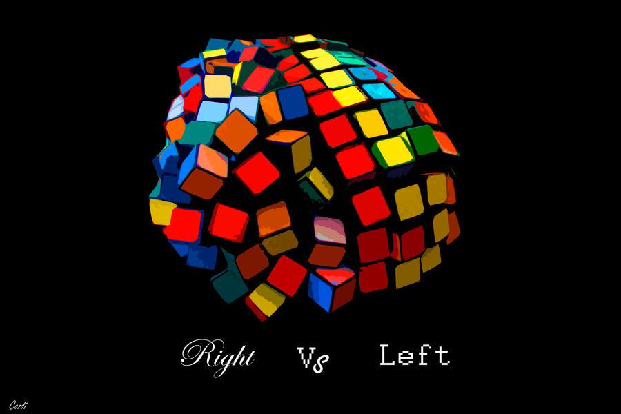 R vs L by azyhadee