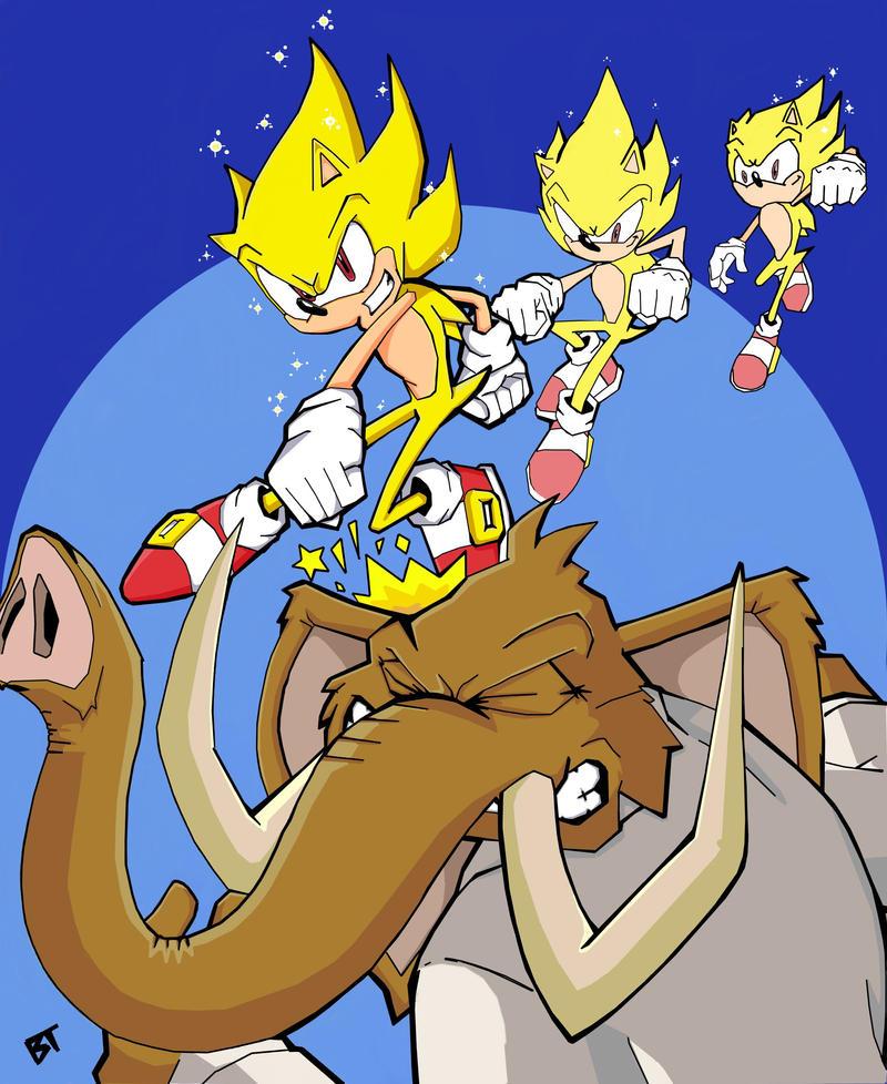 Super Sonic Vs Mammoth Mogul by Vauz