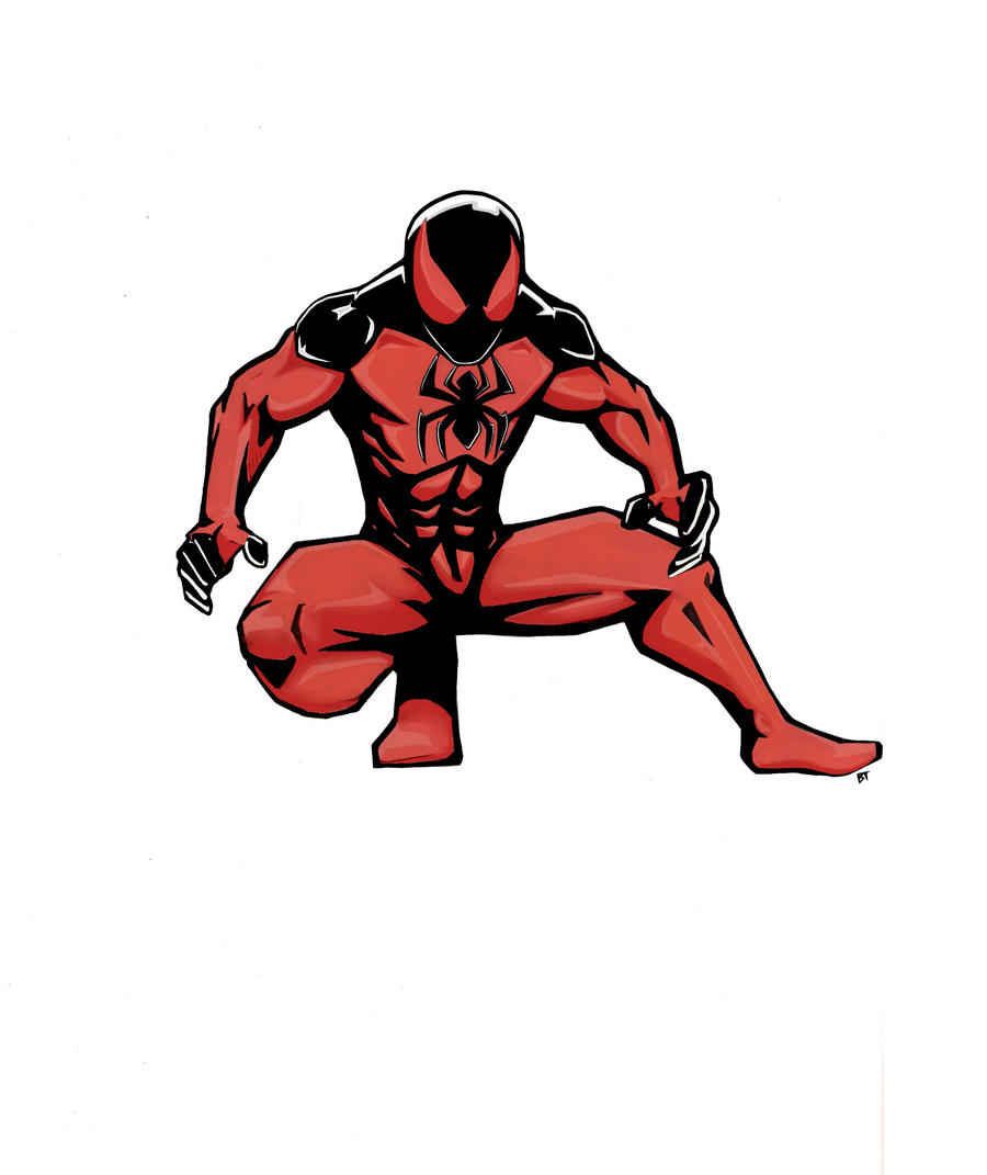 spider man unlimited suit drawing