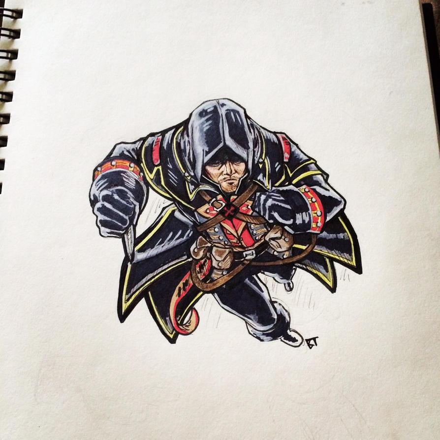 Assassin's Creed Rogue by Vauz