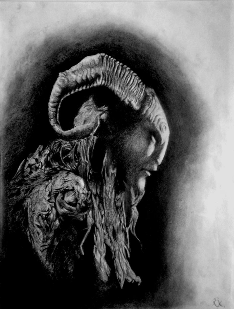 Pan's Labyrinth-The Faun by Summerinx on DeviantArt
