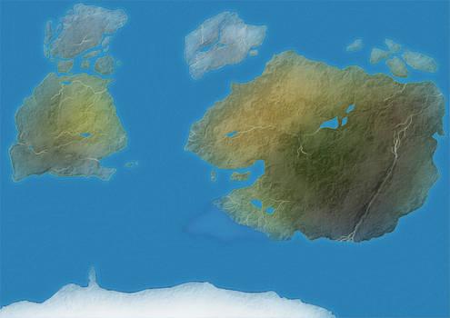 Methyean Land Map