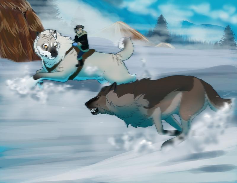 com: Herding the Lone Tokota by bluedrgnMethy