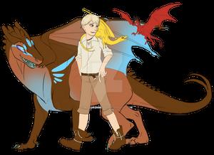 [commission] B'enji, Frith, Gleam, and Caldera