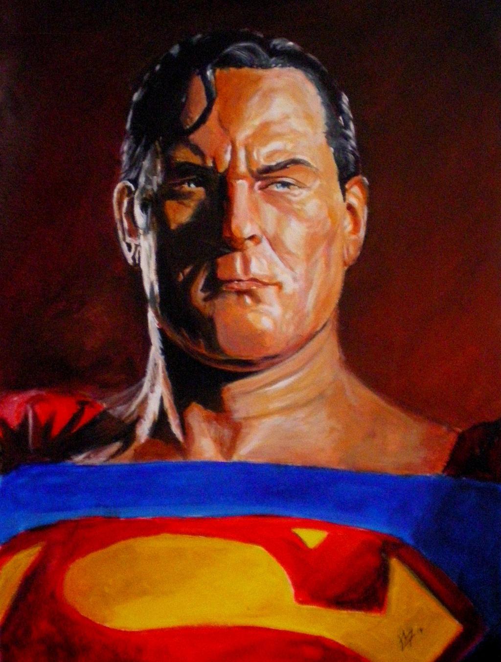 alex ross superman by gossamer1970 on deviantart