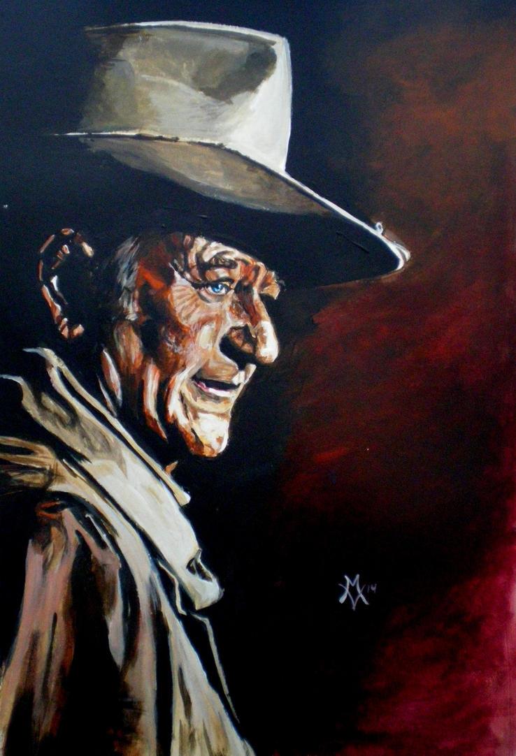 The Duke John Wayne by Gossamer1970