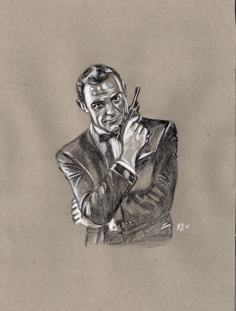Sean Connery James Bond 007 By Gossamer1970 On Deviantart