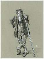 The Hobbit: Bilbo Baggins by Gossamer1970