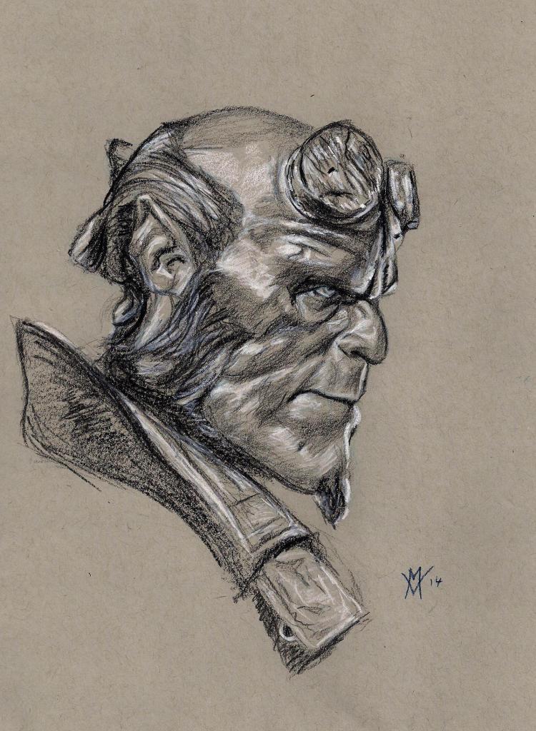 Hellboy Profile by Gossamer1970