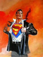 Clark Kent  Superman by Gossamer1970