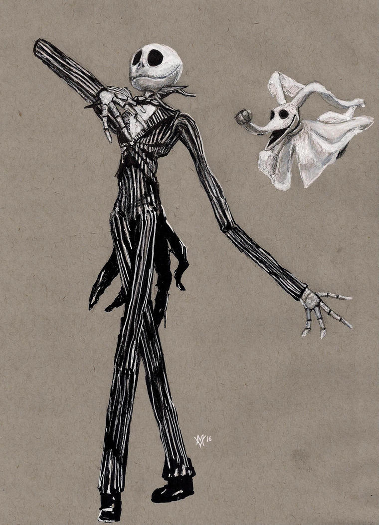 Jack Skellington: The Nightmare before Christmas by Gossamer1970
